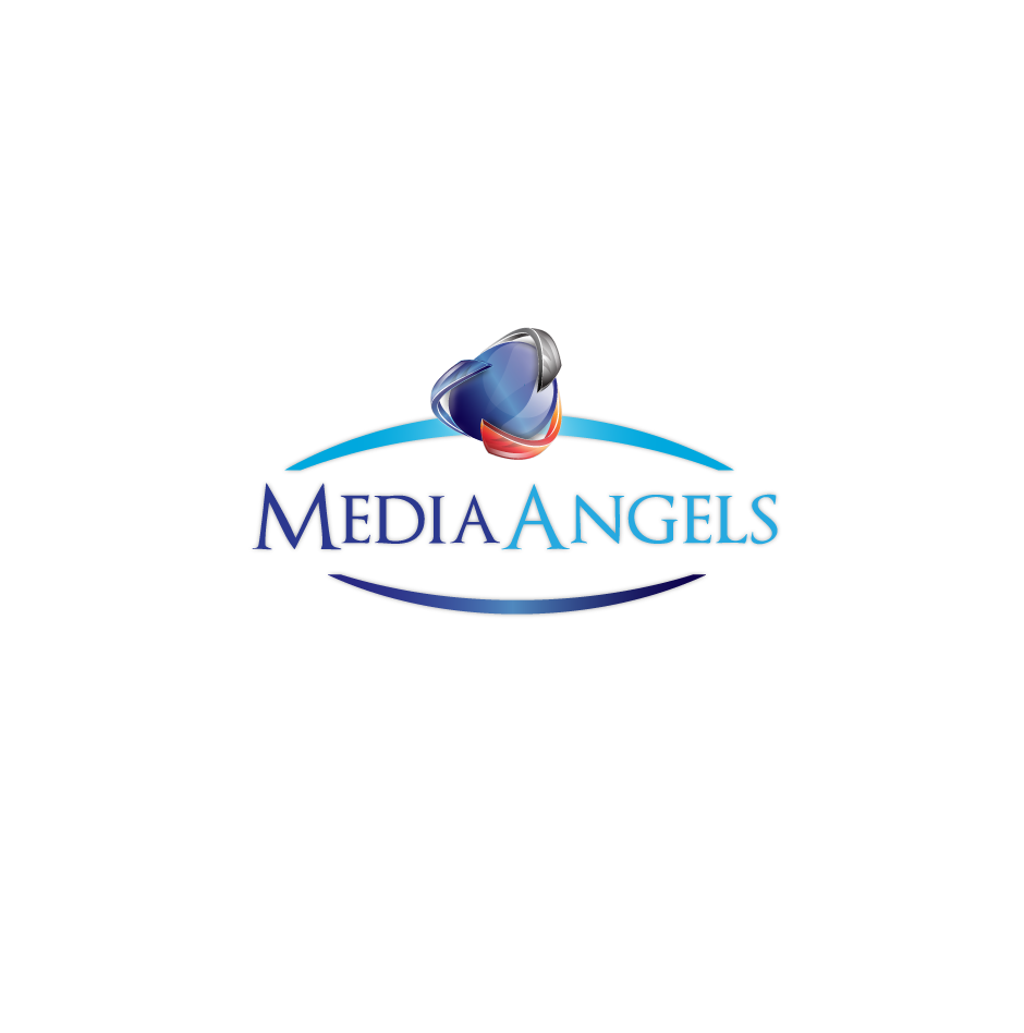 Logo Design by moonflower - Entry No. 88 in the Logo Design Contest New Logo Design for Media Angels.