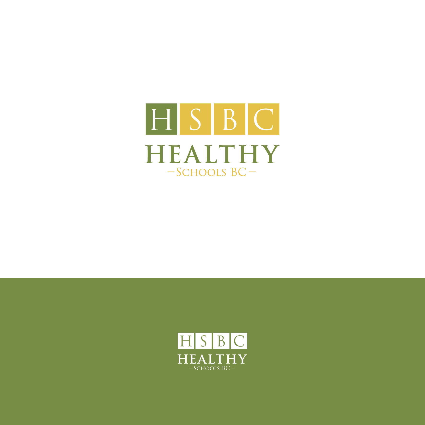 Logo Design by tanganpanas - Entry No. 294 in the Logo Design Contest SImple, Creative and Clean Logo Design for Healthy Schools British Columbia, Canada.
