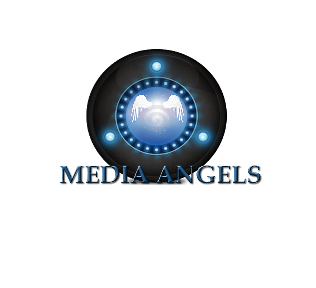 Logo Design by Geet Sharma - Entry No. 90 in the Logo Design Contest New Logo Design for Media Angels.