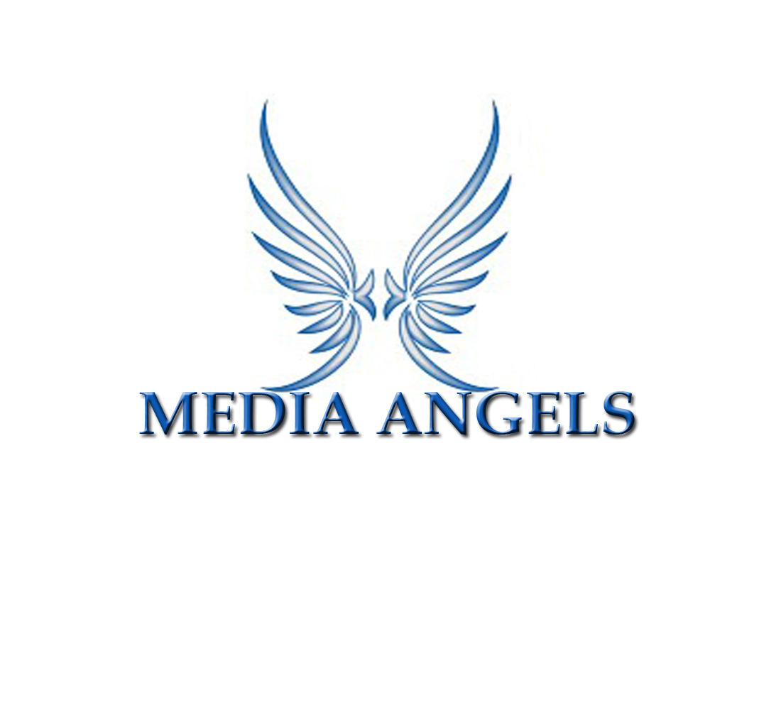 Logo Design by Geet Sharma - Entry No. 91 in the Logo Design Contest New Logo Design for Media Angels.
