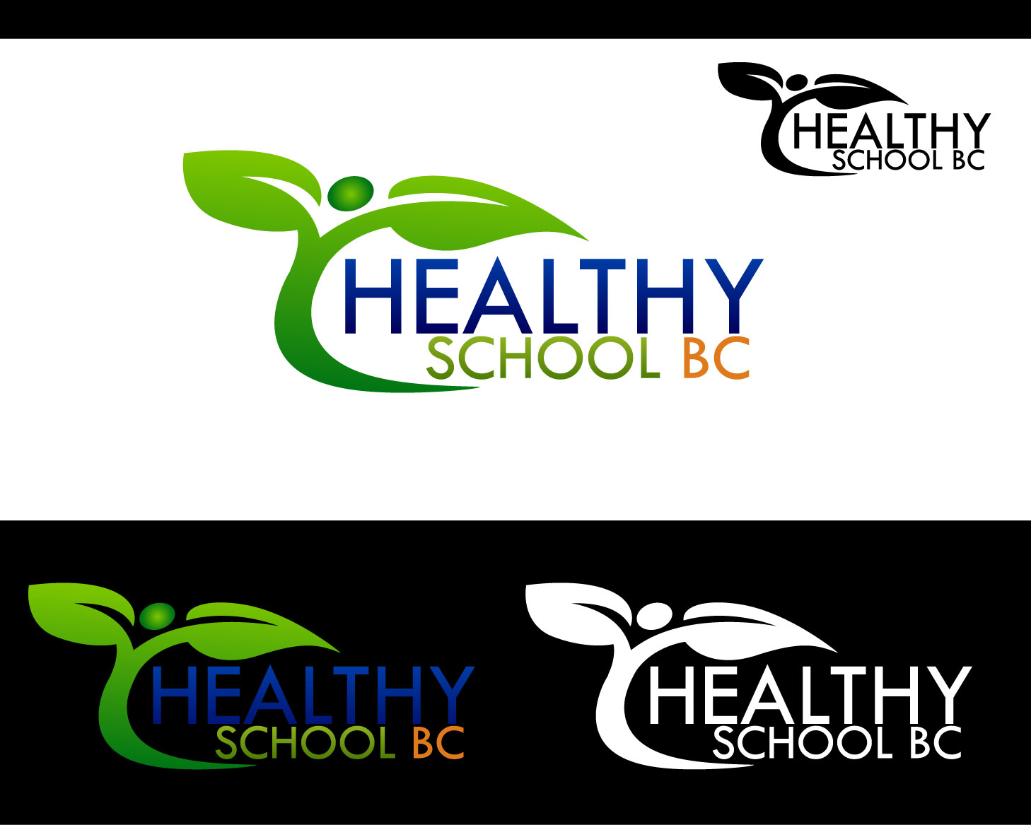 Logo Design by Private User - Entry No. 308 in the Logo Design Contest SImple, Creative and Clean Logo Design for Healthy Schools British Columbia, Canada.