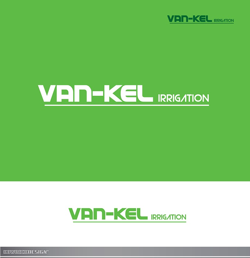 Logo Design by kowreck - Entry No. 1 in the Logo Design Contest Van-Kel Irrigation Logo Design.