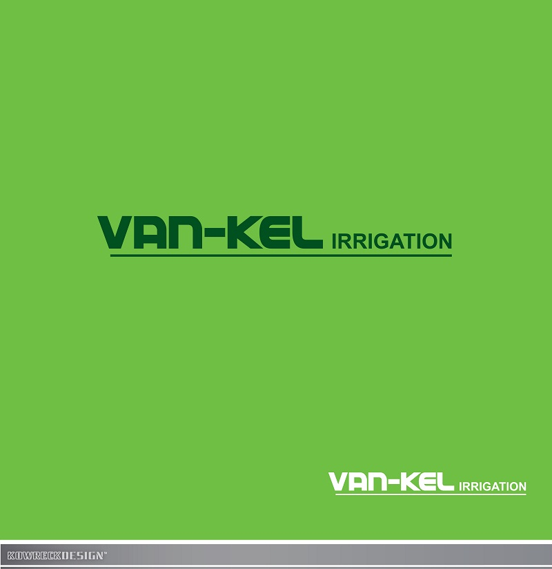 Logo Design by kowreck - Entry No. 3 in the Logo Design Contest Van-Kel Irrigation Logo Design.