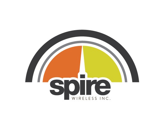 Logo Design by Kayla Labatte - Entry No. 109 in the Logo Design Contest Logo Design for Spire Wireless Inc.