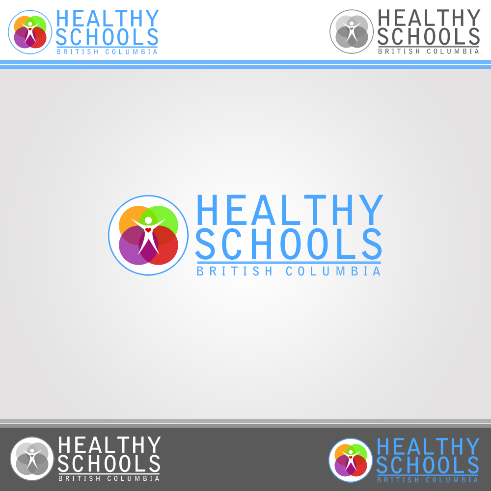 Logo Design by omARTist - Entry No. 316 in the Logo Design Contest SImple, Creative and Clean Logo Design for Healthy Schools British Columbia, Canada.
