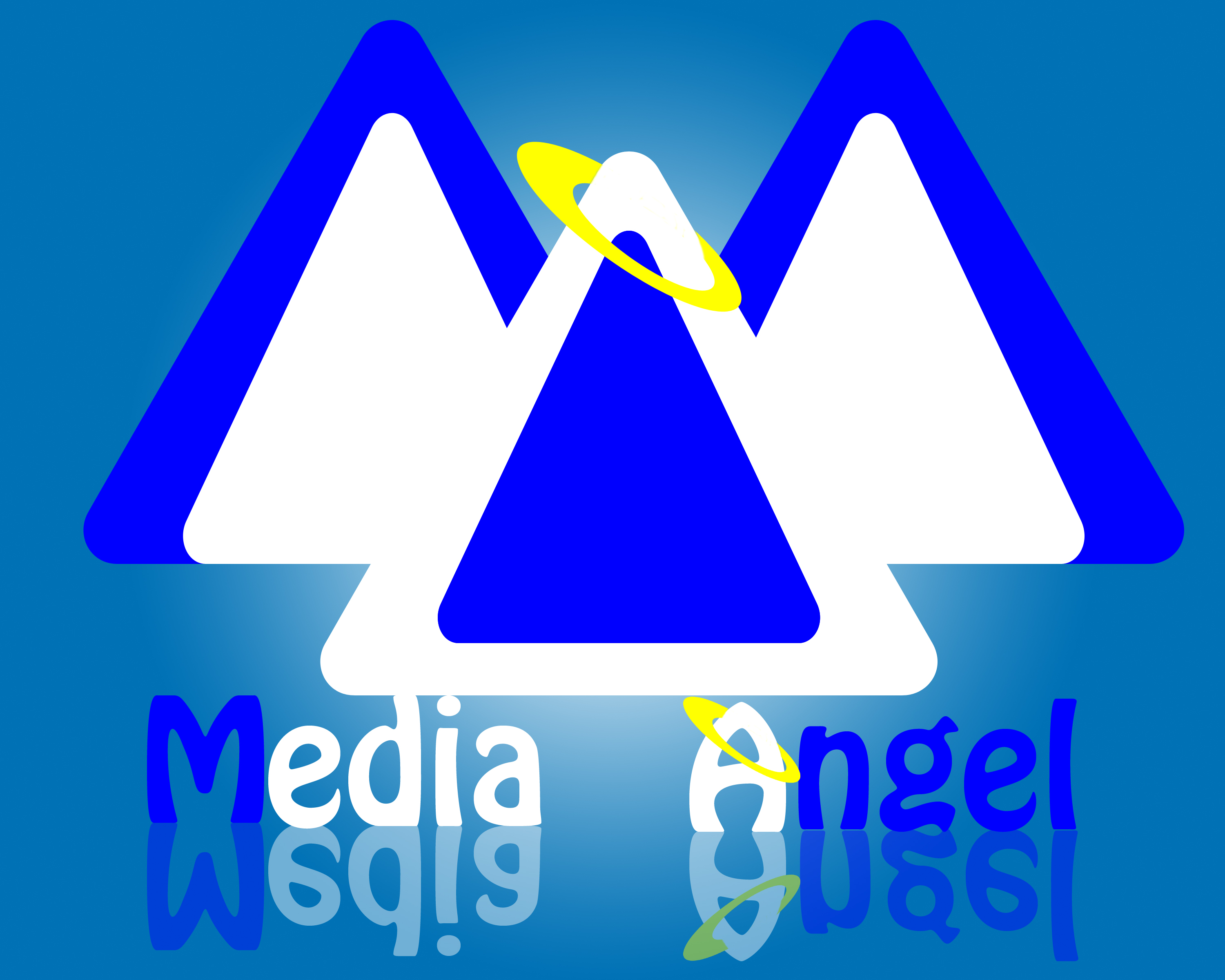 Logo Design by Aljohn Mana-ay - Entry No. 105 in the Logo Design Contest New Logo Design for Media Angels.