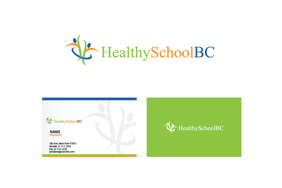 Logo Design by Private User - Entry No. 329 in the Logo Design Contest SImple, Creative and Clean Logo Design for Healthy Schools British Columbia, Canada.
