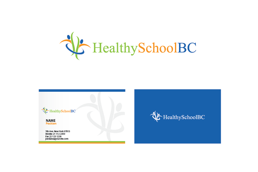 Logo Design by Private User - Entry No. 330 in the Logo Design Contest SImple, Creative and Clean Logo Design for Healthy Schools British Columbia, Canada.