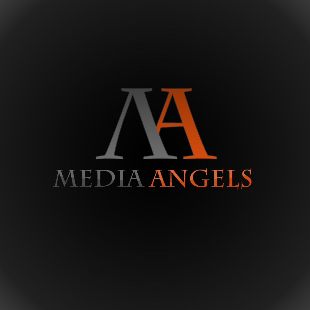 Logo Design by omARTist - Entry No. 107 in the Logo Design Contest New Logo Design for Media Angels.