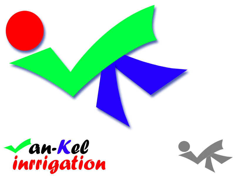 Logo Design by Aljohn Mana-ay - Entry No. 19 in the Logo Design Contest Van-Kel Irrigation Logo Design.