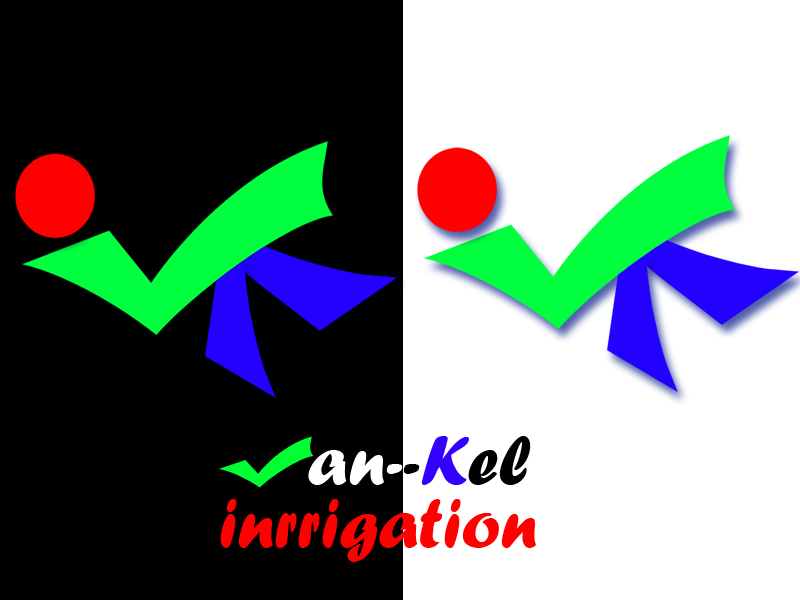 Logo Design by Aljohn Mana-ay - Entry No. 20 in the Logo Design Contest Van-Kel Irrigation Logo Design.