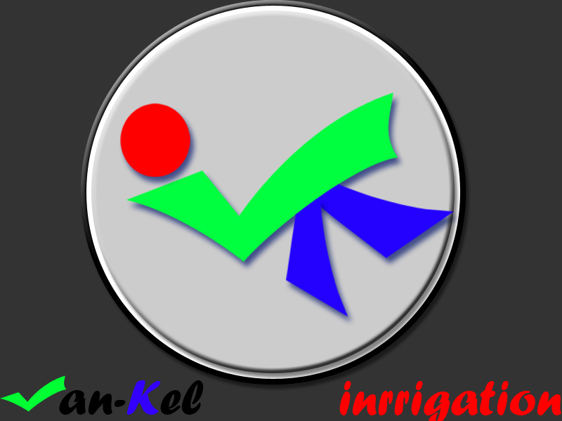 Logo Design by Aljohn Mana-ay - Entry No. 21 in the Logo Design Contest Van-Kel Irrigation Logo Design.