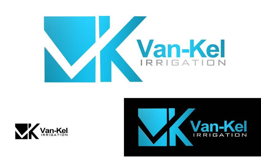 Logo Design by Respati Himawan - Entry No. 22 in the Logo Design Contest Van-Kel Irrigation Logo Design.