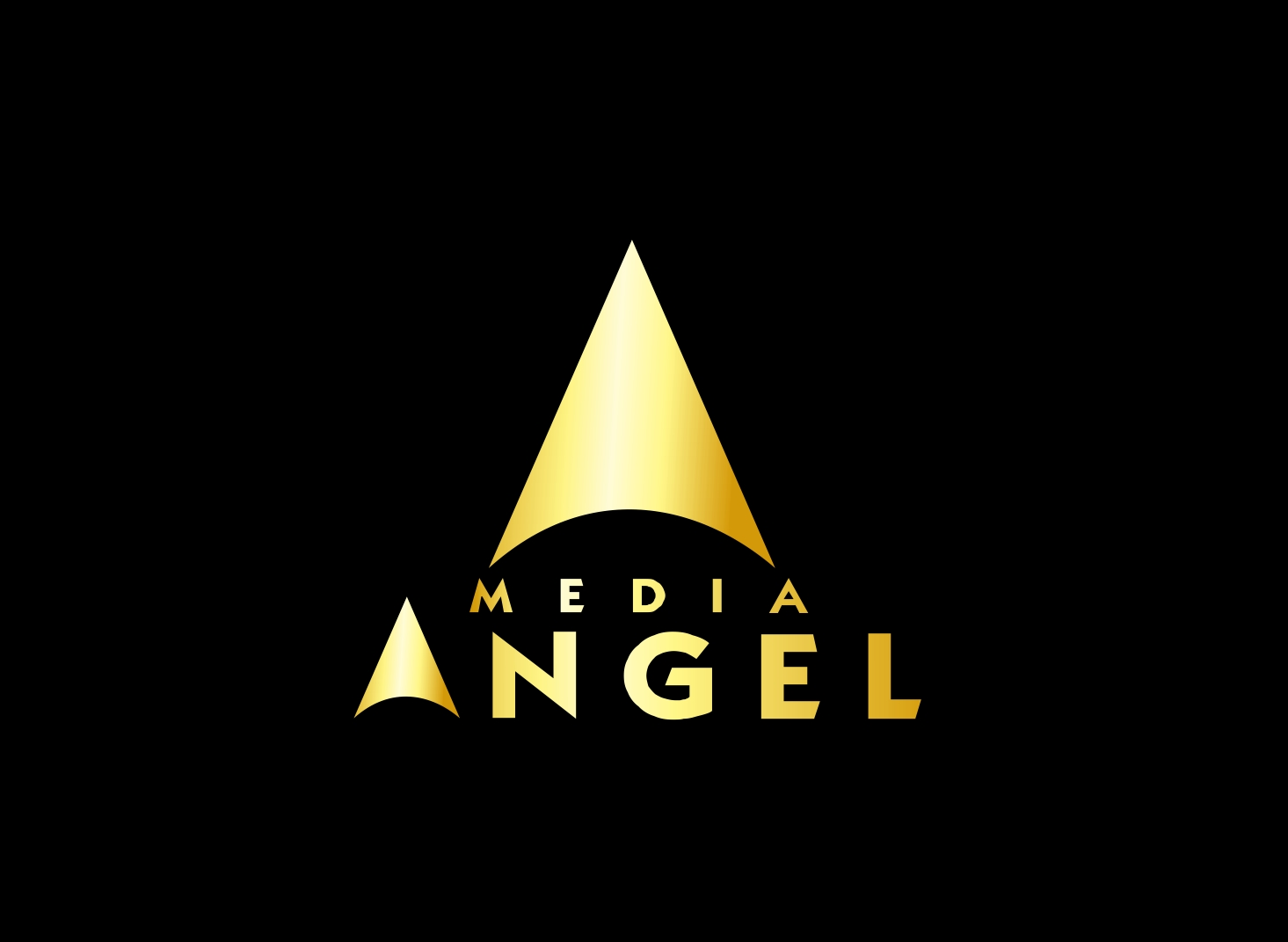 Logo Design by Zdravko Krulj - Entry No. 114 in the Logo Design Contest New Logo Design for Media Angels.