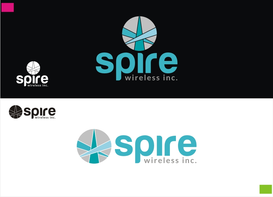 Logo Design by Private User - Entry No. 129 in the Logo Design Contest Logo Design for Spire Wireless Inc.