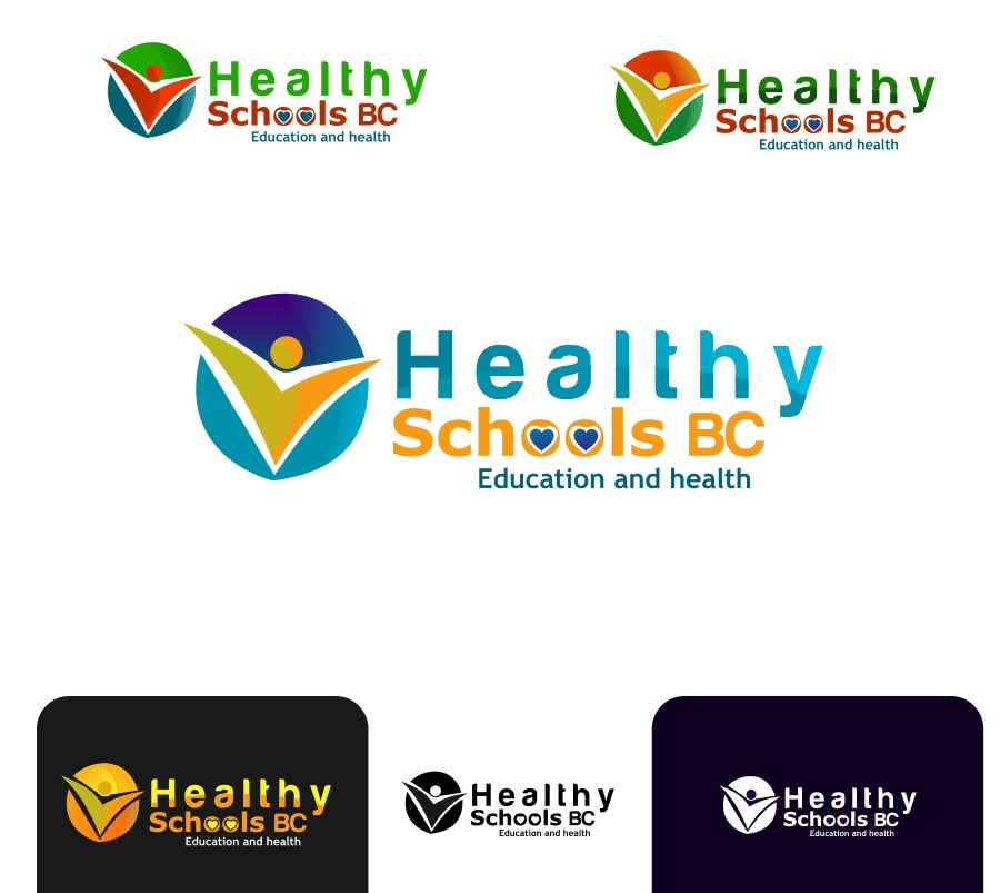 Logo Design by Private User - Entry No. 338 in the Logo Design Contest SImple, Creative and Clean Logo Design for Healthy Schools British Columbia, Canada.