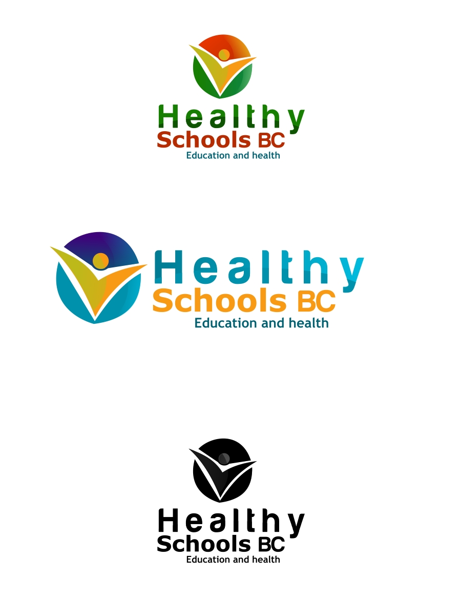 Logo Design by Private User - Entry No. 339 in the Logo Design Contest SImple, Creative and Clean Logo Design for Healthy Schools British Columbia, Canada.