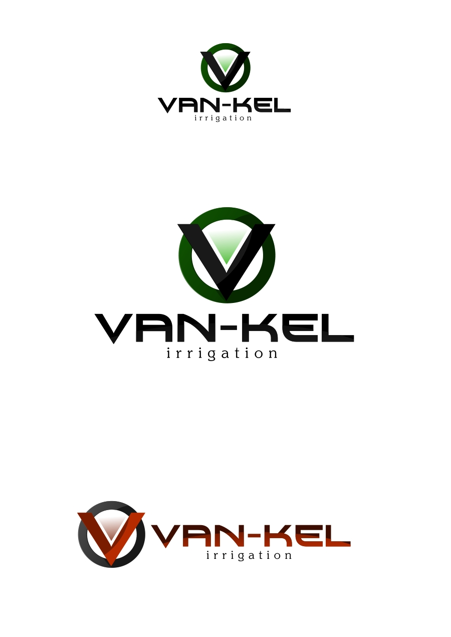 Logo Design by Private User - Entry No. 27 in the Logo Design Contest Van-Kel Irrigation Logo Design.