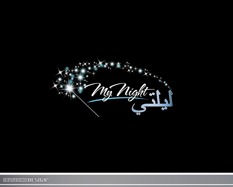 Logo Design by kowreck - Entry No. 40 in the Logo Design Contest Unique Logo Design Wanted for My Night - ليلتي.