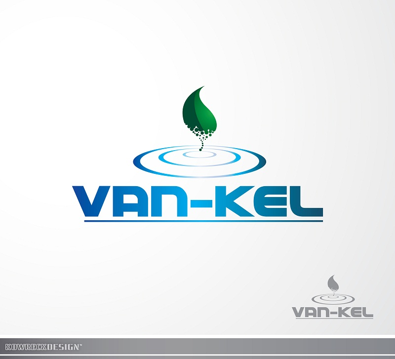 Logo Design by kowreck - Entry No. 34 in the Logo Design Contest Van-Kel Irrigation Logo Design.