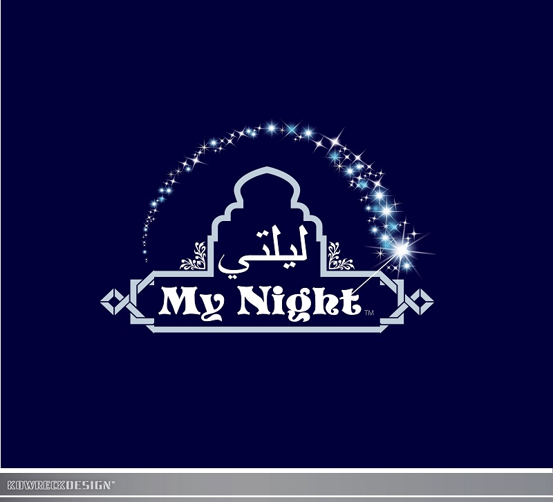 Logo Design by kowreck - Entry No. 43 in the Logo Design Contest Unique Logo Design Wanted for My Night - ليلتي.