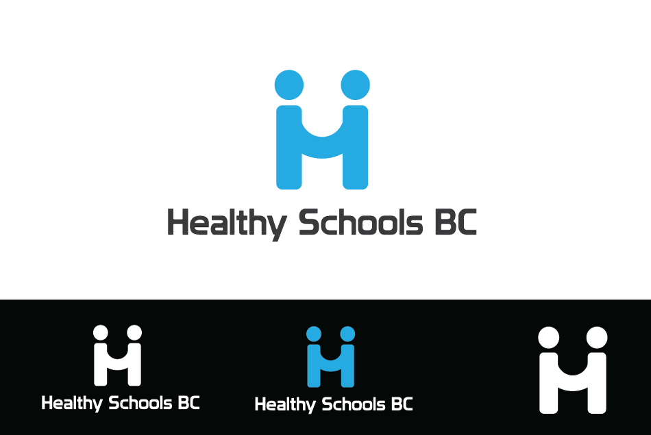 Logo Design by Dipin Bishwakarma - Entry No. 345 in the Logo Design Contest SImple, Creative and Clean Logo Design for Healthy Schools British Columbia, Canada.