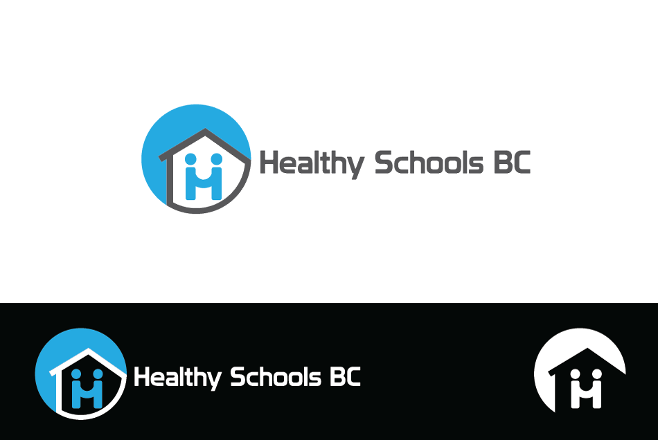 Logo Design by Dipin Bishwakarma - Entry No. 346 in the Logo Design Contest SImple, Creative and Clean Logo Design for Healthy Schools British Columbia, Canada.
