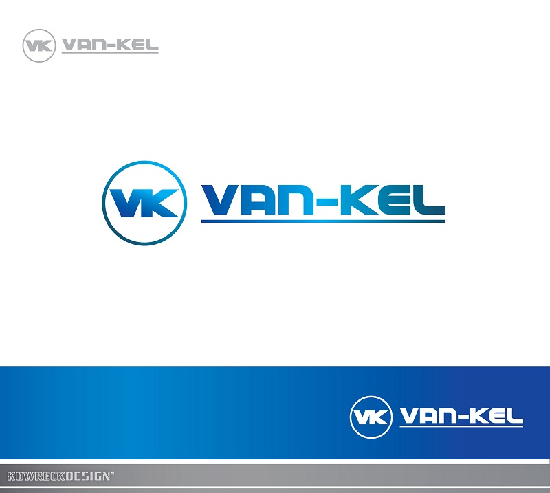 Logo Design by kowreck - Entry No. 47 in the Logo Design Contest Van-Kel Irrigation Logo Design.