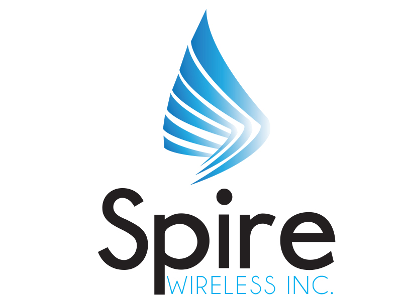 Logo Design by Mythos Designs - Entry No. 131 in the Logo Design Contest Logo Design for Spire Wireless Inc.