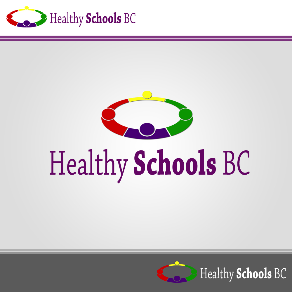 Logo Design by omARTist - Entry No. 377 in the Logo Design Contest SImple, Creative and Clean Logo Design for Healthy Schools British Columbia, Canada.