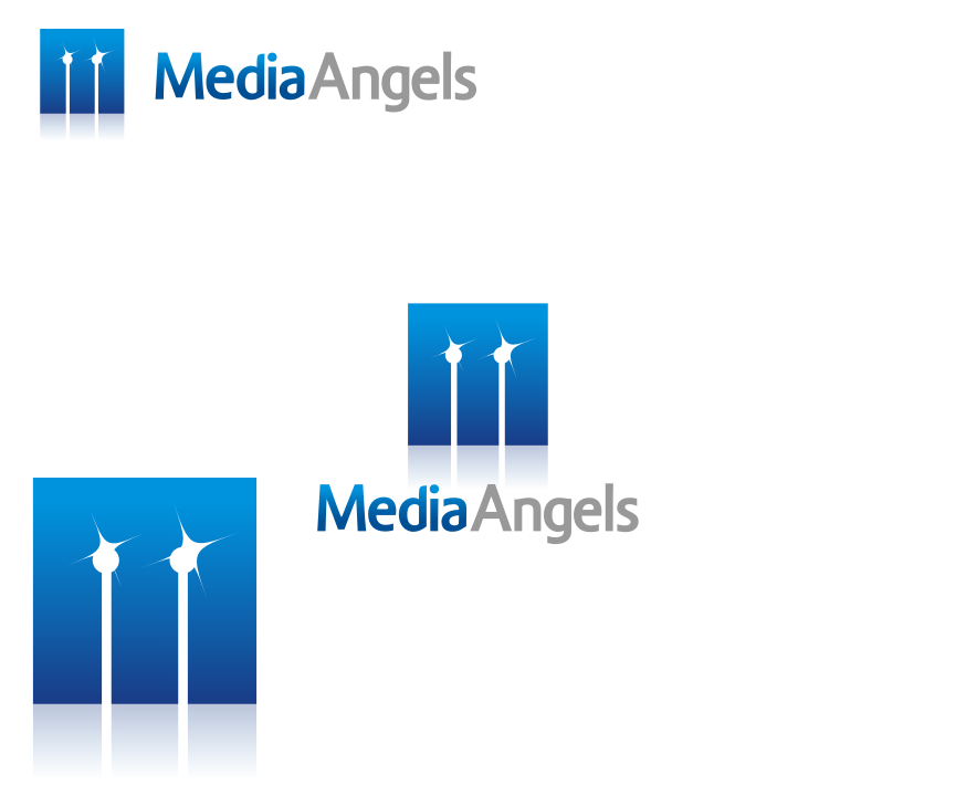 Logo Design by graphicleaf - Entry No. 127 in the Logo Design Contest New Logo Design for Media Angels.