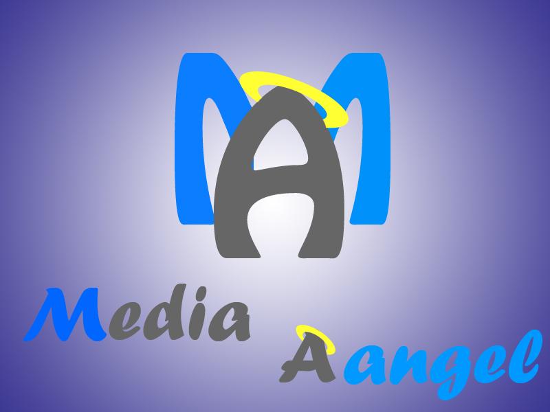 Logo Design by Aljohn Mana-ay - Entry No. 129 in the Logo Design Contest New Logo Design for Media Angels.