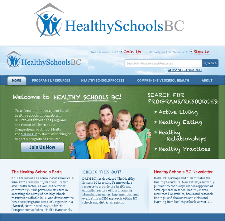 Logo Design by Muhammad Moinjaved - Entry No. 385 in the Logo Design Contest SImple, Creative and Clean Logo Design for Healthy Schools British Columbia, Canada.