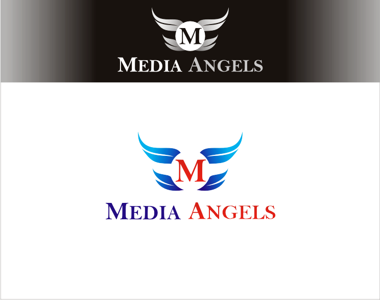 Logo Design by Armada Jamaluddin - Entry No. 134 in the Logo Design Contest New Logo Design for Media Angels.