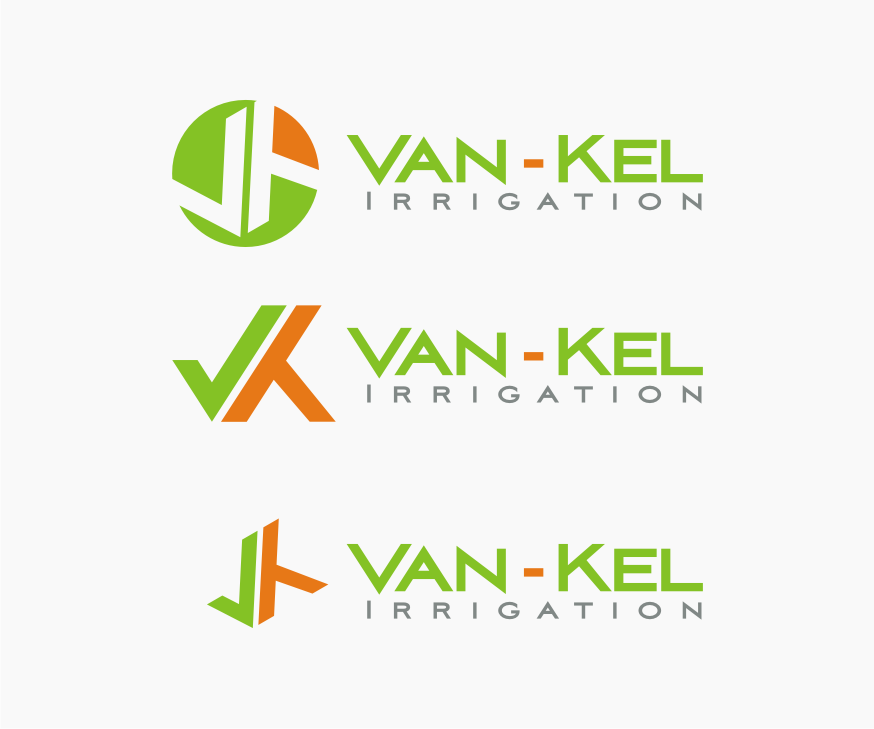 Logo Design by Muhammad Nasrul chasib - Entry No. 73 in the Logo Design Contest Van-Kel Irrigation Logo Design.