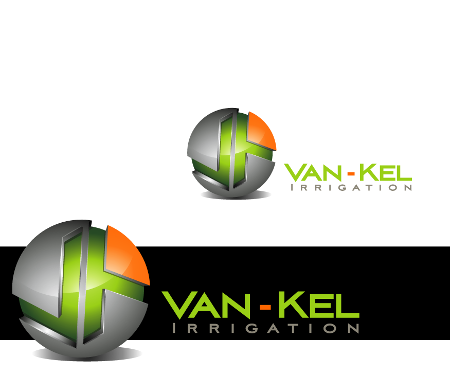 Logo Design by graphicleaf - Entry No. 74 in the Logo Design Contest Van-Kel Irrigation Logo Design.