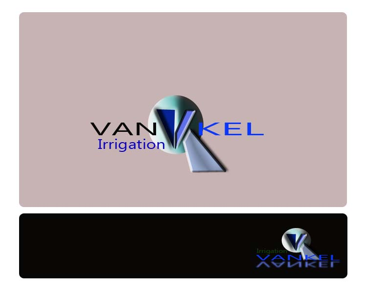 Logo Design by Najmul Ahmad - Entry No. 76 in the Logo Design Contest Van-Kel Irrigation Logo Design.
