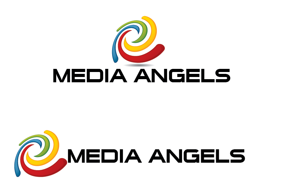 Logo Design by Muhammad Moinjaved - Entry No. 135 in the Logo Design Contest New Logo Design for Media Angels.