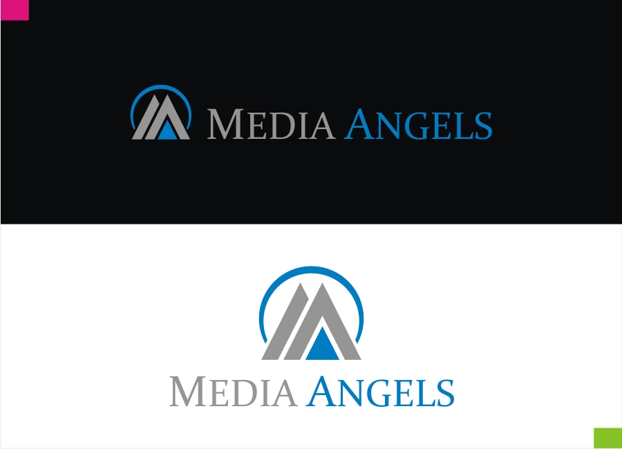 Logo Design by Private User - Entry No. 141 in the Logo Design Contest New Logo Design for Media Angels.
