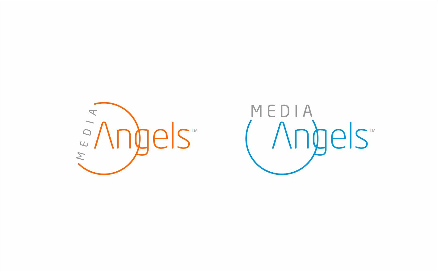 Logo Design by sihanss - Entry No. 146 in the Logo Design Contest New Logo Design for Media Angels.