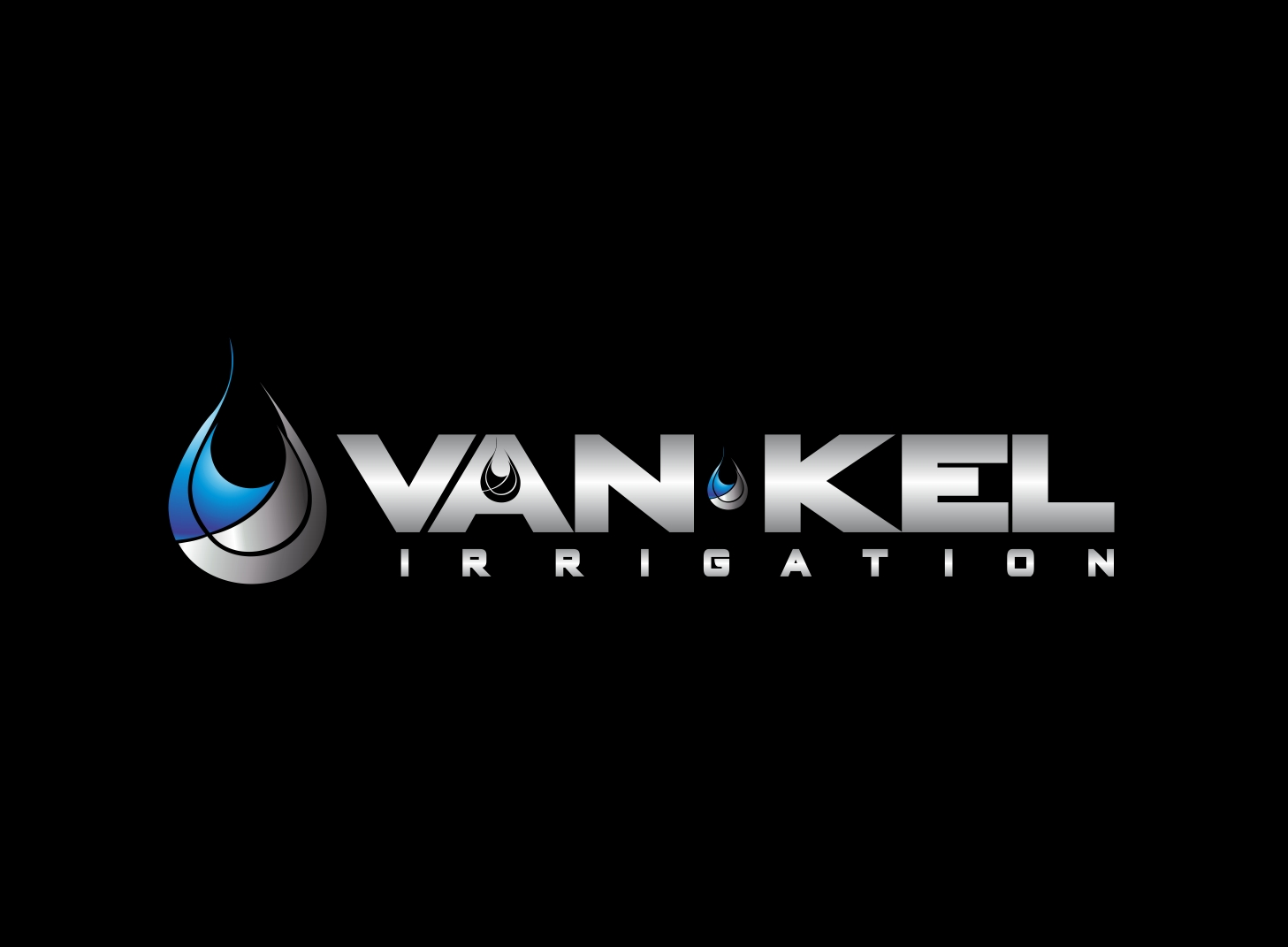 Logo Design by Zdravko Krulj - Entry No. 87 in the Logo Design Contest Van-Kel Irrigation Logo Design.