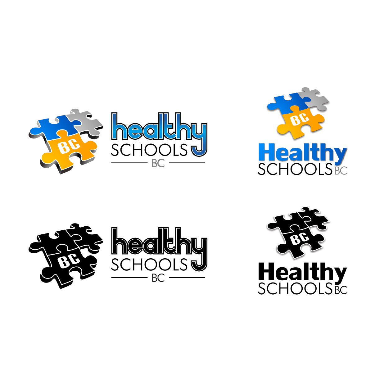 Logo Design by PJD - Entry No. 417 in the Logo Design Contest SImple, Creative and Clean Logo Design for Healthy Schools British Columbia, Canada.