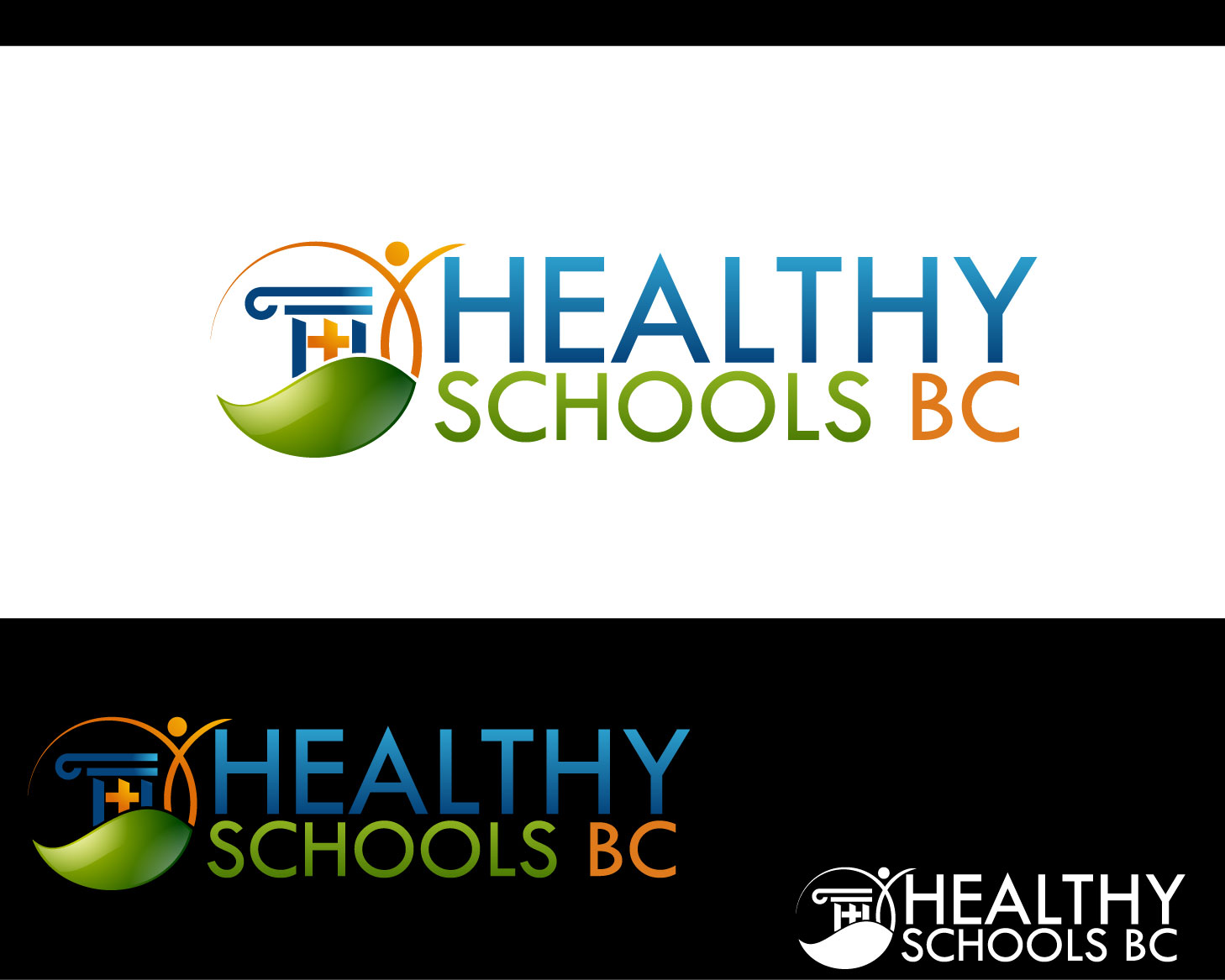 Logo Design by Private User - Entry No. 418 in the Logo Design Contest SImple, Creative and Clean Logo Design for Healthy Schools British Columbia, Canada.