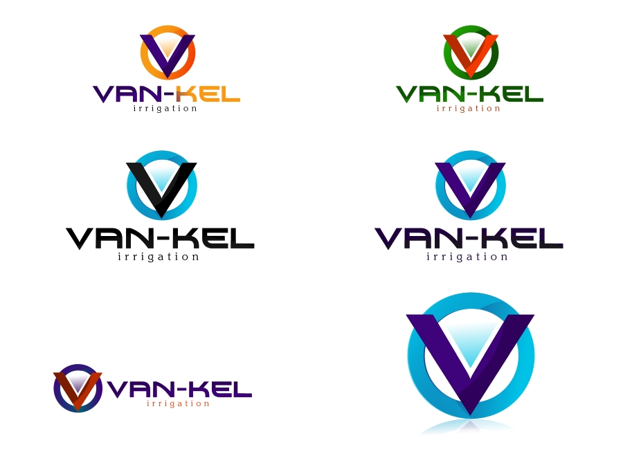 Logo Design by Private User - Entry No. 95 in the Logo Design Contest Van-Kel Irrigation Logo Design.