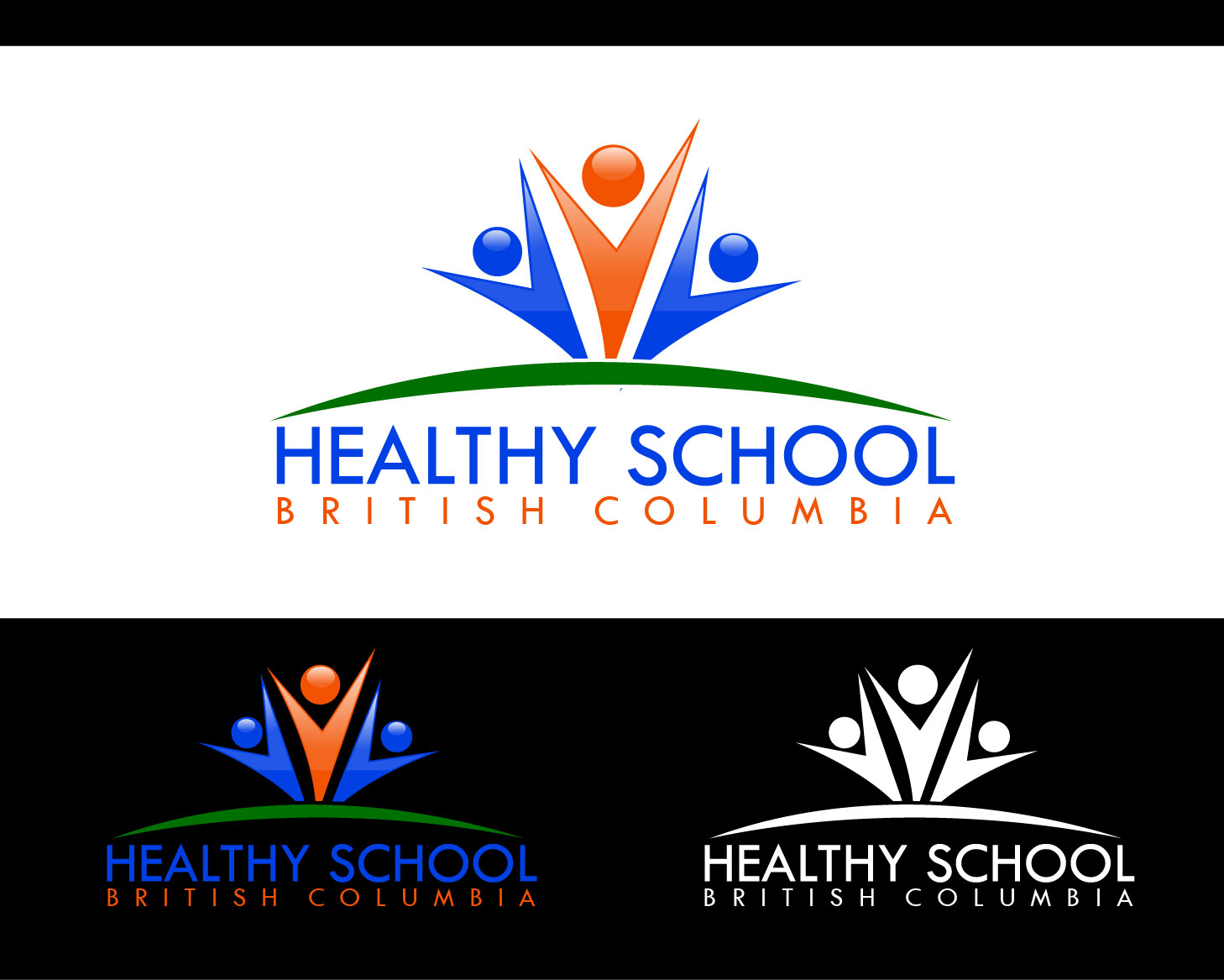 Logo Design by Private User - Entry No. 419 in the Logo Design Contest SImple, Creative and Clean Logo Design for Healthy Schools British Columbia, Canada.