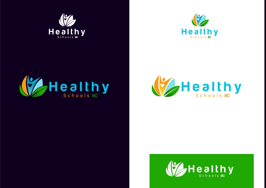 Logo Design by Private User - Entry No. 420 in the Logo Design Contest SImple, Creative and Clean Logo Design for Healthy Schools British Columbia, Canada.