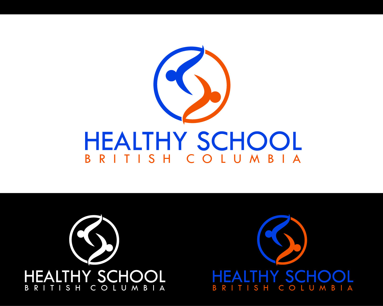 Logo Design by Private User - Entry No. 421 in the Logo Design Contest SImple, Creative and Clean Logo Design for Healthy Schools British Columbia, Canada.