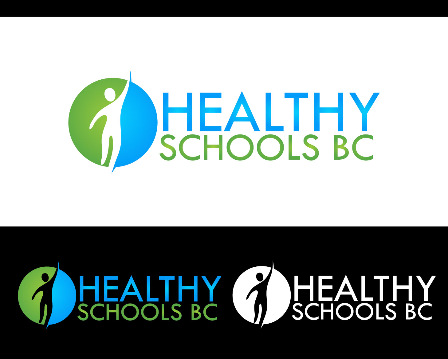 Logo Design by Private User - Entry No. 422 in the Logo Design Contest SImple, Creative and Clean Logo Design for Healthy Schools British Columbia, Canada.