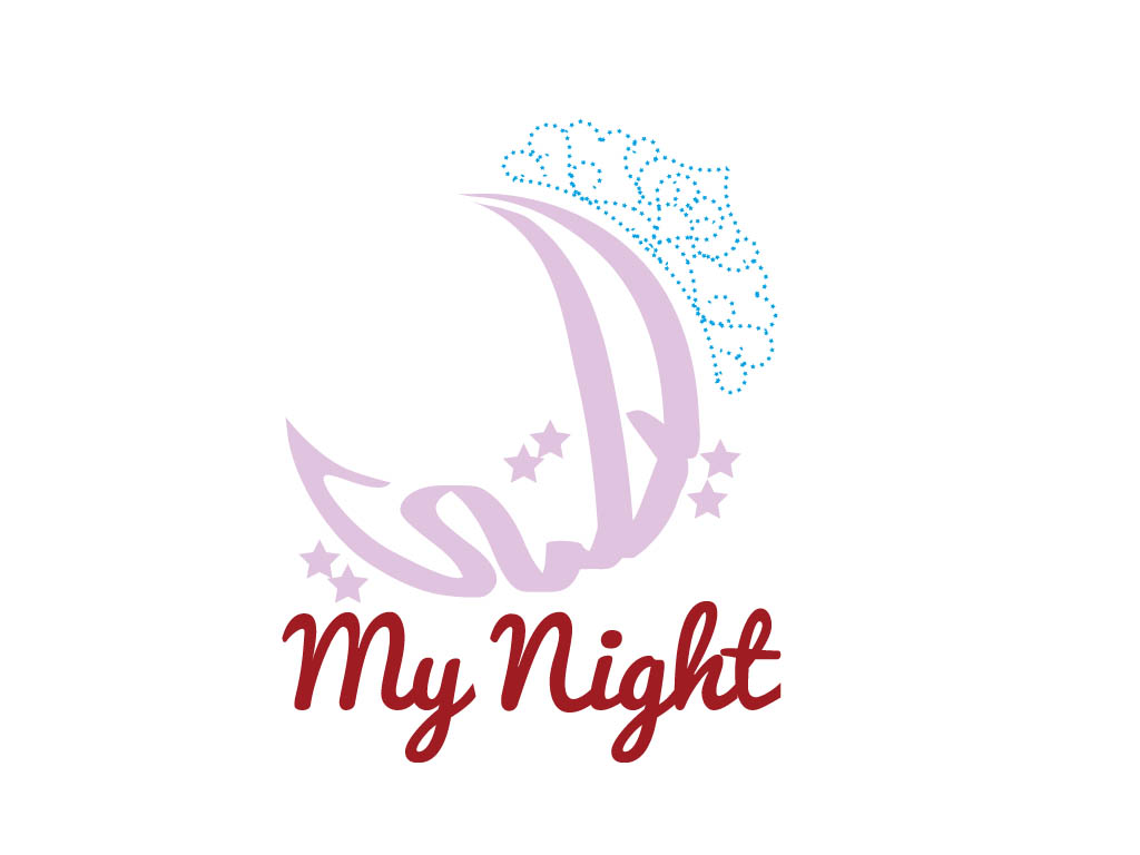 Logo Design by Mohamed Abdulrub - Entry No. 61 in the Logo Design Contest Unique Logo Design Wanted for My Night - ليلتي.