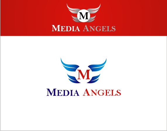 Logo Design by Armada Jamaluddin - Entry No. 148 in the Logo Design Contest New Logo Design for Media Angels.